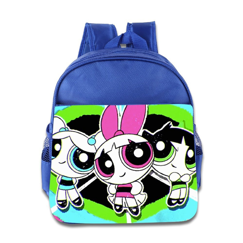 3b4bc5ccaec Get Quotations · Kids The Powerpuff Girls School Backpack Cartoon Baby Boys  Girls School Bags