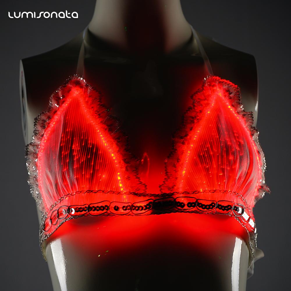 Светящееся женское белье купить массажер для спины медисана