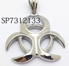 SP7312133 2015 Unique Design Stainless Steel Silver Pendant