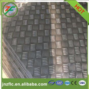 Aluminum tread plate 5 bar Embossing press plate aluminium chequer plate & Aluminum Tread Plate 5 Bar Embossing Press Plate Aluminium Chequer ...