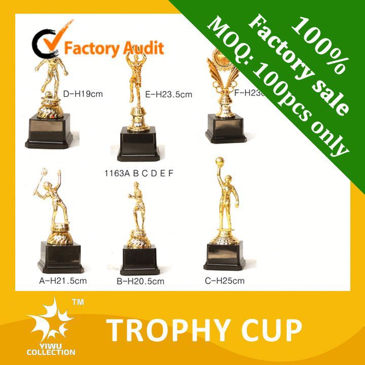 metal trophy figurines,2015 new design angle trophy,new glass trophy