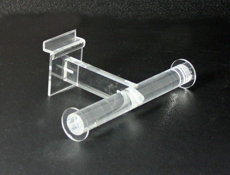 Acrylic Slatwall T-shape Necklace/ Bracelet Display Bar ( Shelf ...