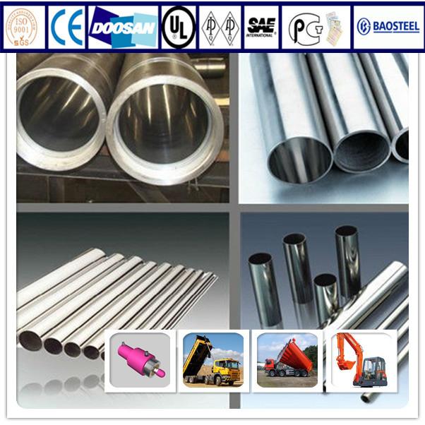 Factory Hot Sale ASTM 106B ST52 Hydraulic Steel Tubing