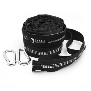 20 loops adjustable no stretch hammock straps for camping