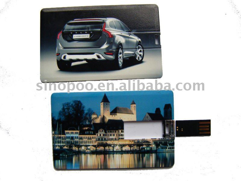 popular and hot selling 1gb 2gb 4gb credit card usb flash memory stick