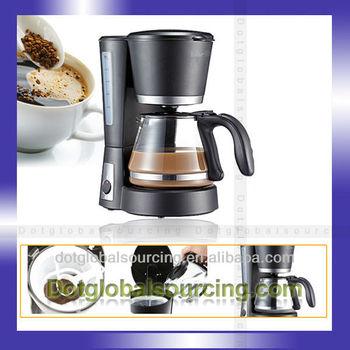 New Kfj-403 0.6l For Bear Black Coffee Cup Tea Maker Brewer Filter ...