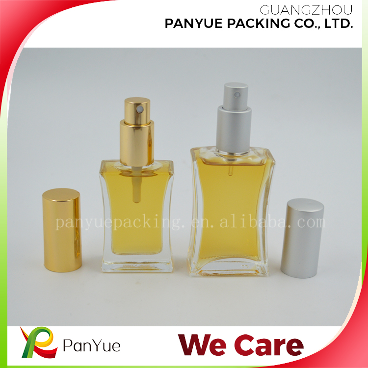 the perfume shop 30ml /50ml clear glass perfume bottle of body spray
