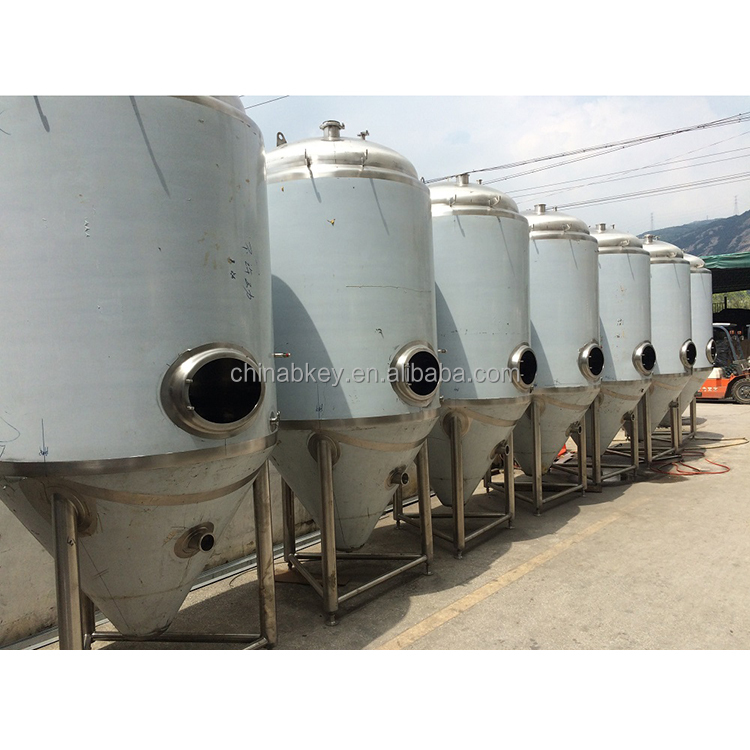 Stainless steel bright beer tank for fermentation