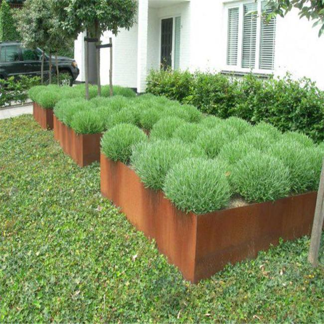 d coratif en acier corten mur de sout nement paysage pelouse bord plaque d 39 acier id de produit. Black Bedroom Furniture Sets. Home Design Ideas