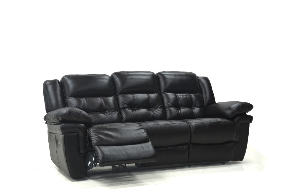 Get Quotations · Top Recliner Leather Sofa Set