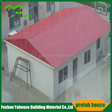 Modern Prefabricated Slop Roof House Design Living Home for Sale