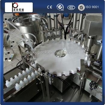 e liquid bottling machine