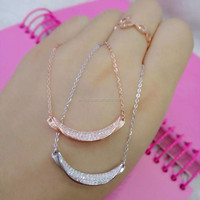 Perfect Gift Silver Fashion Necklace 925 sterling silver necklace Wholesale Item