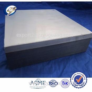 Aluminum Stainless Steel Bimetallic Explosive Welding Clad
