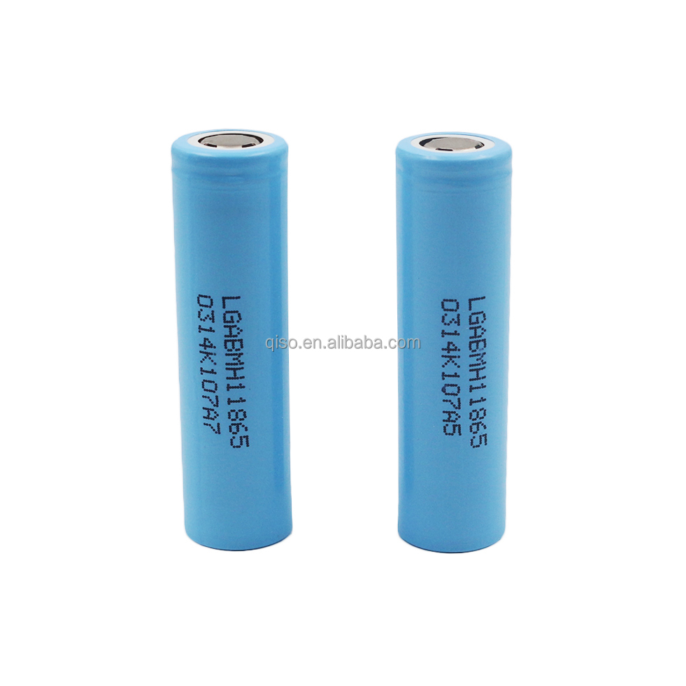 Newest arrival 2016 product LG 18650 3.7v MH1 3200mah 10A discharge rate high drain li-ion battery cells for battery caps