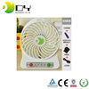 Best gift and price portable mini fan rechargeable 12v dc fan with battery usb mini vacuum