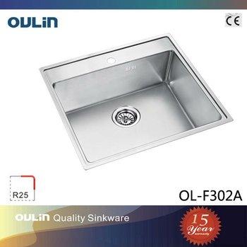 oulin handmade stainless steel sink undermount sink