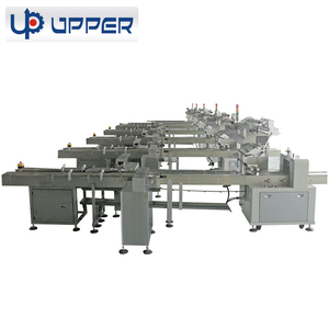 High speed wafer biscuit automated flowpack multi packaging machine