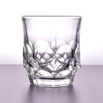 Wholesale low MOQ high quality crystal whiskey glasses cups