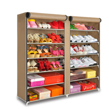 6 Tiers 2 Door Shoes Storage Organiser Housekeeping Shoe Display Cabinet. View larger image  sc 1 st  Alibaba Wholesale & 6 Tiers 2 Door Shoes Storage Organiser Housekeeping Shoe Display ...