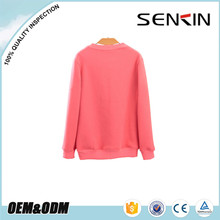 thick women's sweatshirts, high quality 100% cotton pullover sweatshirts wholesale