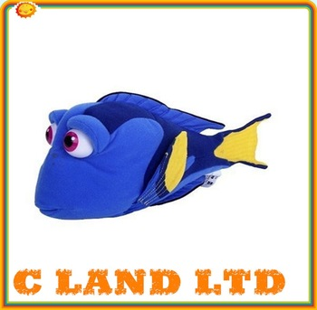 Kartun Finding Nemo Dory Fish Stuffed Animal Lembut Mainan Mewah