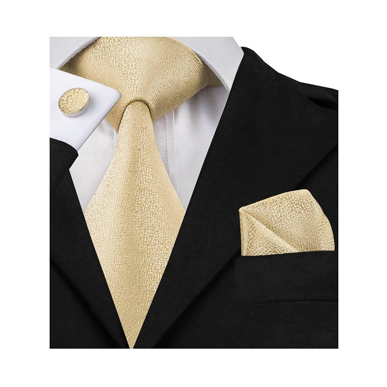 5e0230f92c8 Wang Mens Ties Designer Novelty Silk Tie Hanky Cufflinks Set Woven