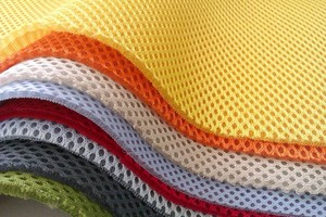 Recycled polyester textile 3D air mesh
