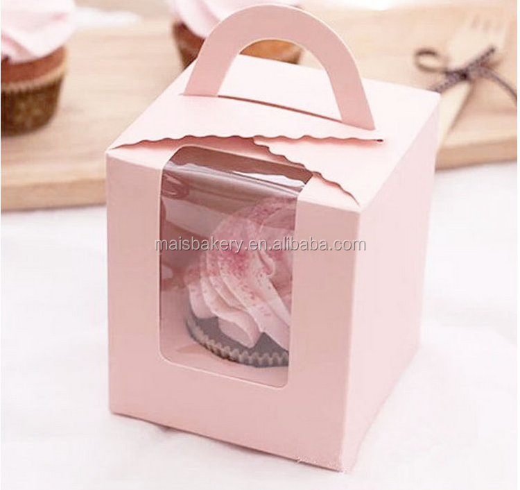 cake box with handle