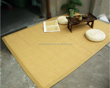 high quality Latex backing 100% Sisal Carpet with fabric binding