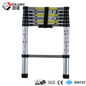 aluminum telescopic adjustable folding step ladder