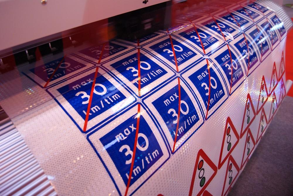 photograph regarding Printable Reflective Vinyl titled Adhesive Subsidized Printable Reflective Media,Electronic Print Media Printable Reflective Vinyl Impression Movie Sticker - Order Micro-prismatic Retro Reflective
