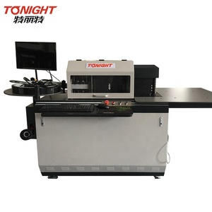 hot sell 3d lettering machine and channel bending notcher machine for signage customized lights