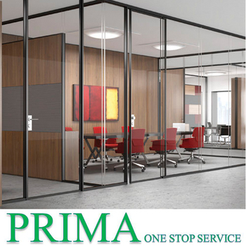 office wall dividers. Cheap Price Combined Half Frosted Glass Office Wall Dividers Retractable Partition .
