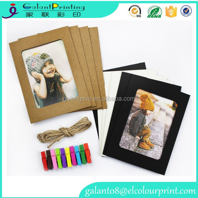 High quality design hanging digital stand paper photo frame