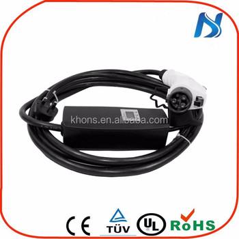 Portable Charging Plug Schuko Ev Battery Charger Level 2 Ev ...