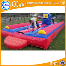 2016 top-rated inflatable bungee jump PVC inflatable bungee run for sale
