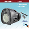 Rechargeable Portable teaching wireless pa system with USB/SD TK-T99