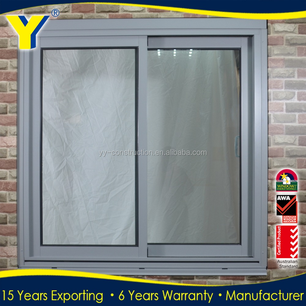Aluminium Double Glazing Sliding Window - Buy Aluminium Sliding ...