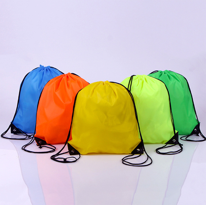 DEMIYYH001 Free Shipping Folding Polyester Custom Wholesale Drawstring Bag