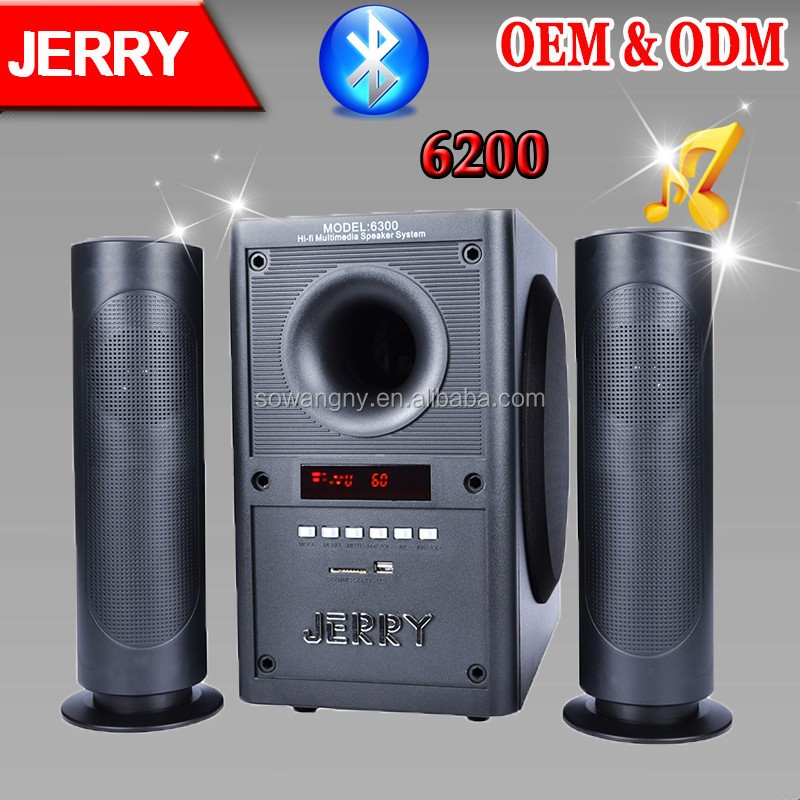 Speaker Subwoofers 2.1 Home Theater With Bluetooth 6200 Soundbar ...