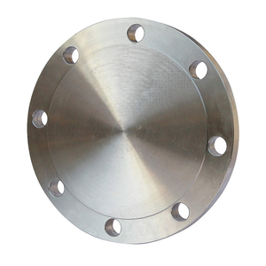 OEM Customizable Carbon Steel Pipe Fittings Weld Neck Blind Flange