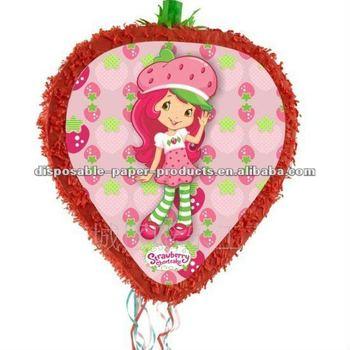 Strawberry Shortcake Pinatas - Buy Strawberry Shortcake Pinatas ...