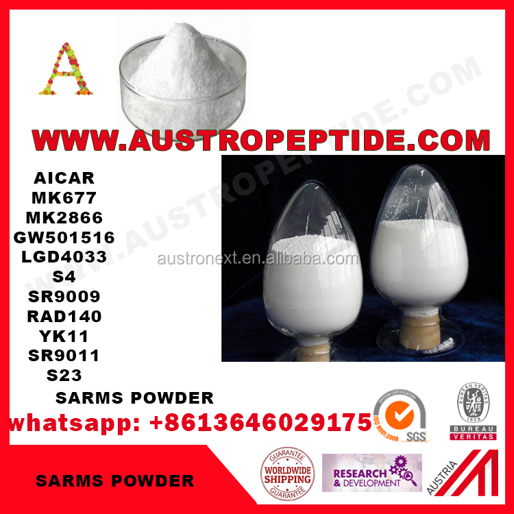 hot sell MK677 powder , low price SARMS MK677