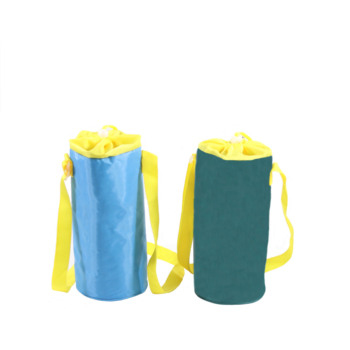 2L 200D Polyester PEVA Travel Water Bottle Cooler Ice Bag