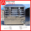 Promotion automatic rotary grill beef roaster grill machine chicken kebab grilling machine