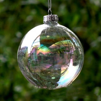 2018 2017 Hot Sale Factory Price Custom Clear Glass Christmas Ball Ornaments