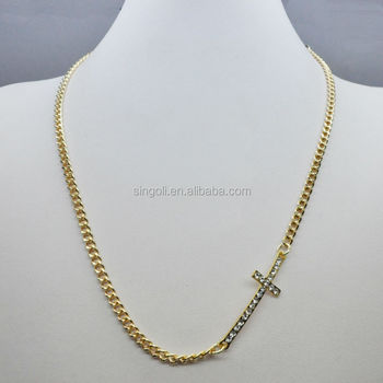 Baby mini diamond cross pendant necklace 14k gold buy diamond baby mini diamond cross pendant necklace 14k gold mozeypictures Images