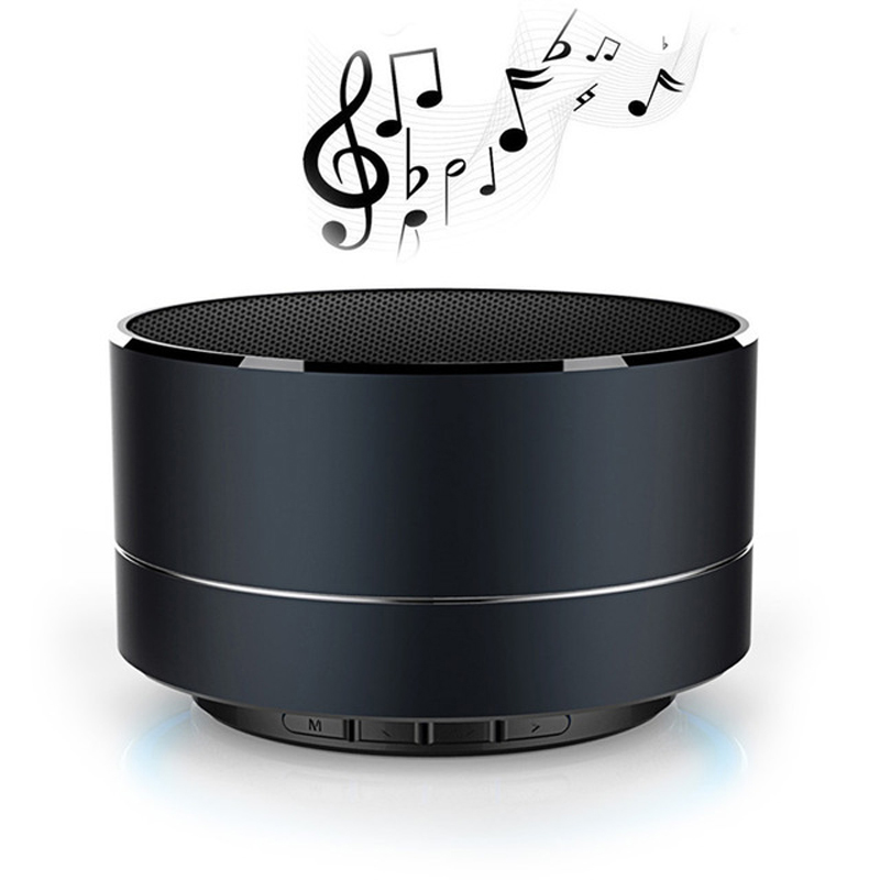 Mini Wireless Speaker Portable Sound System 3D car Stereo Music Box with TF USB FM Radio Party dj bass Speakers