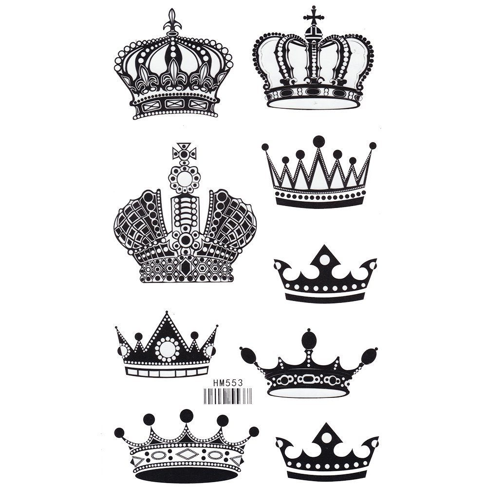 Cheap King Crown Tattoo, find King Crown Tattoo deals on line at ...